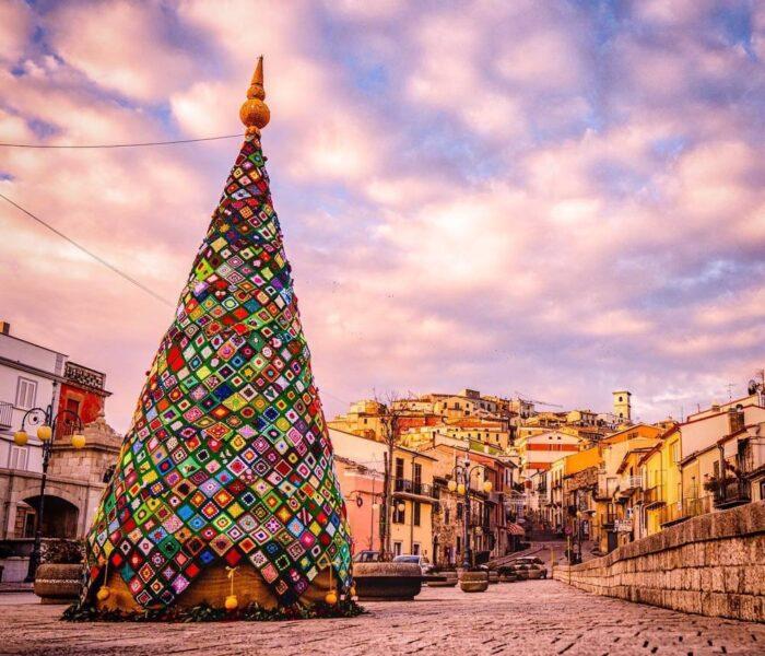 Horgolt Karácsonyfa és Hópelyhek, Ez Molise