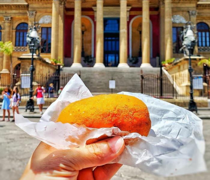 Az Olasz Street Food ételek Nyomában