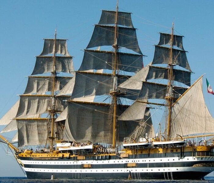 90 éves A Világ Legszebb Hajója, Az Amerigo Vespucci