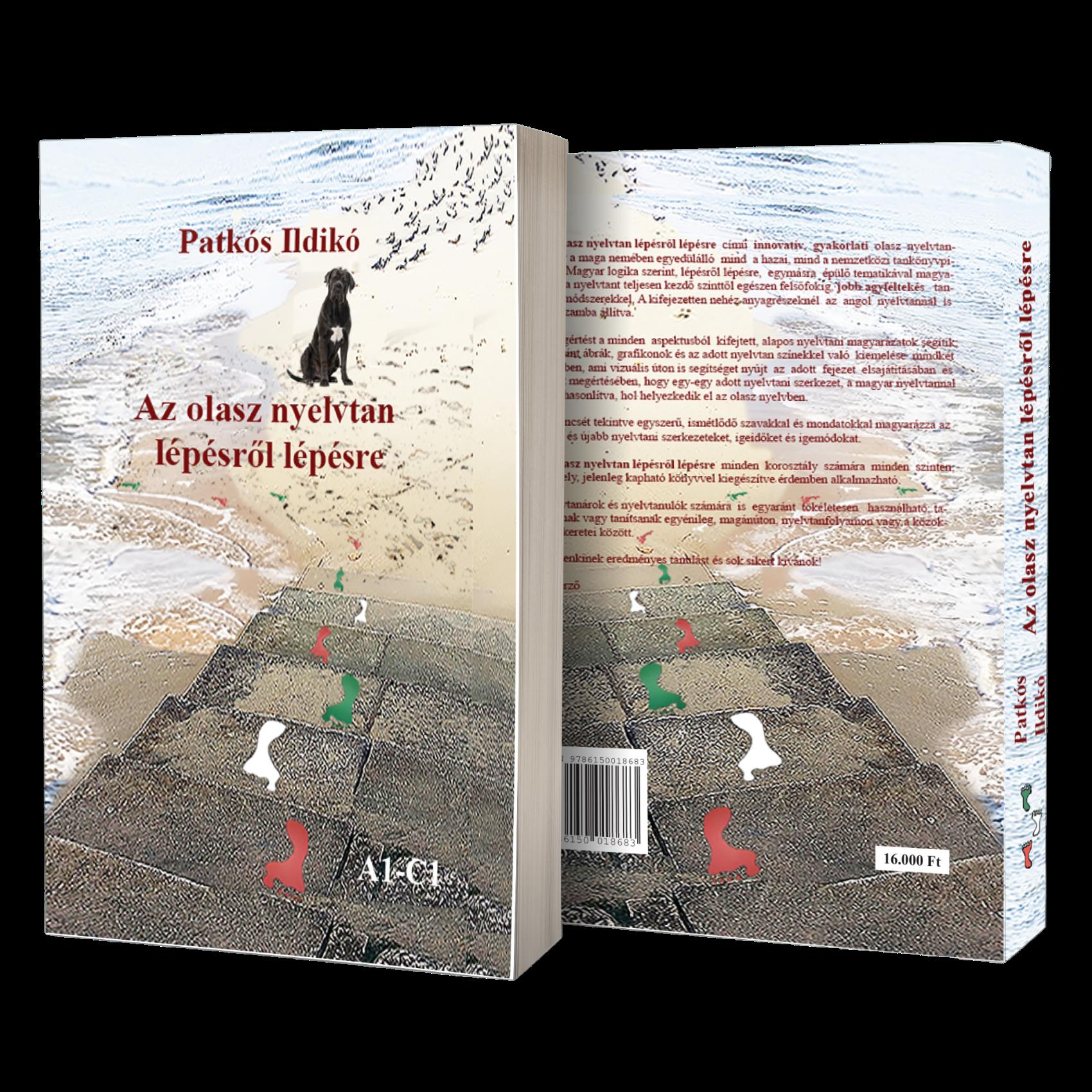 Olasz nyelvtan lépésről lépésre c. könyv